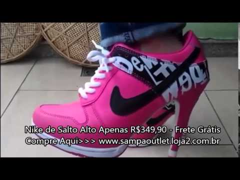a3533bac7bd Nike de Salto Alto - Lançamento - YouTube