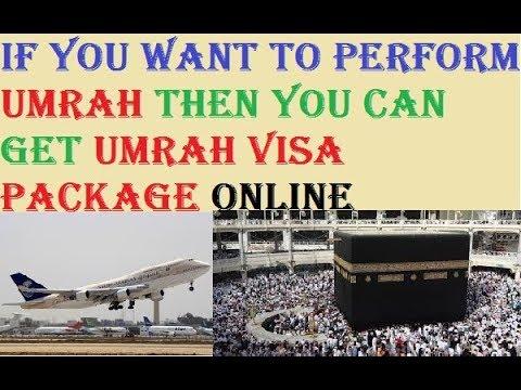 Umrah || How To Get Umrah Visa Online