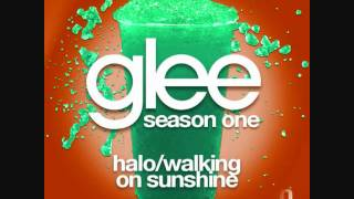 Glee - Halo/Walking On Sunshine (Mashup HQ)