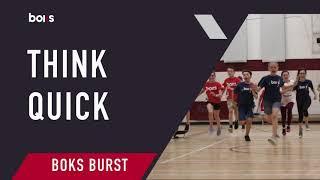 BOKS Burst: Think Quick