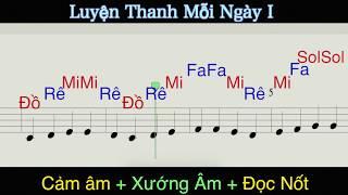 Luyện Thanh Mỗi Ngày 1: Học Cảm Âm, Xướng Âm và Nhạc Lý Nhanh Nhất - Hồng Hải Virgo