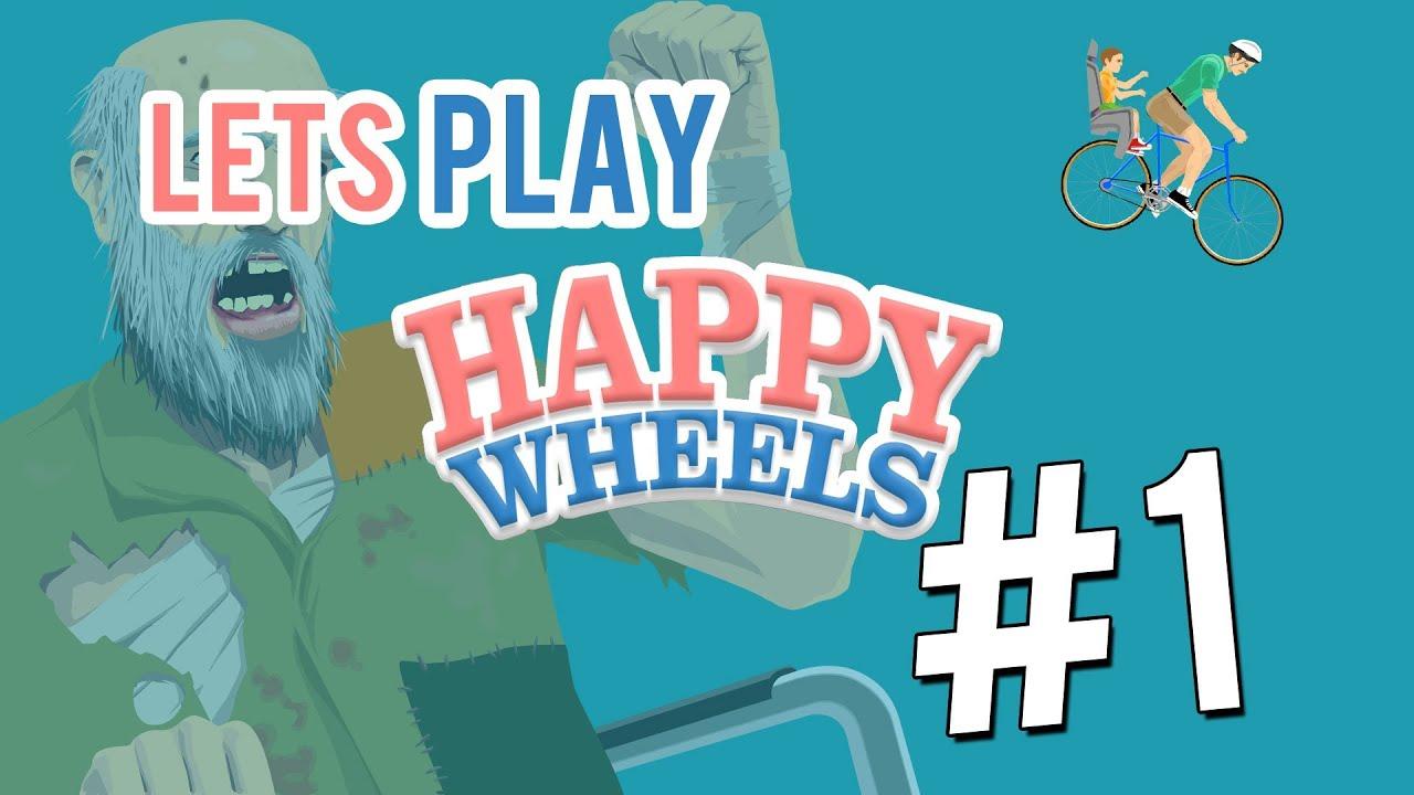 Lets play happy wheels 1 verr ckter mongoo youtube - Let s play happy wheels ...