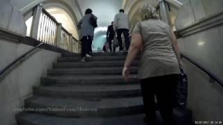 Переход метро Театральная - Охотный ряд 02.07.2017