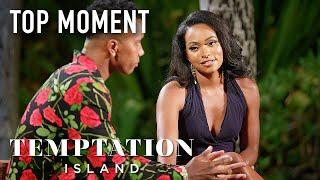 Erica Leaves Kendal Speechless During Final Bonfire | Temptation Island | USA Network