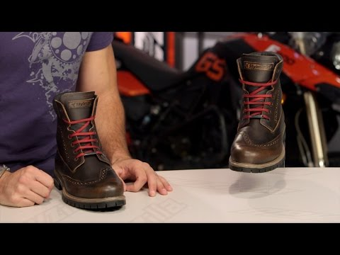 c52c505c6f Stylmartin Wave Boots Review at RevZilla.com - YouTube