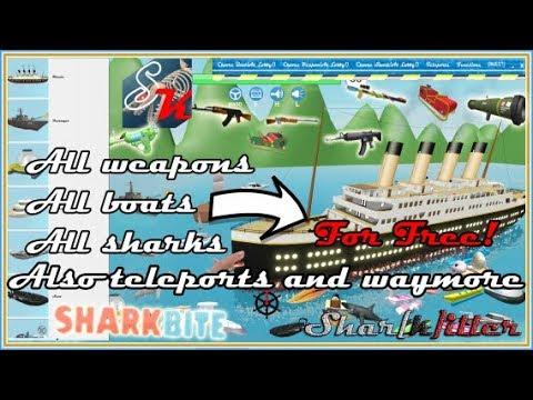 Sharkbite Titanic Roblox Hack Script Free Boat Guns