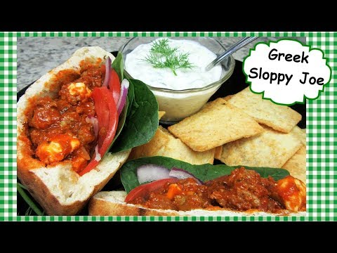 Greek Sloppy Joes With Ground Lamb ~ Sloppy Joe Sandwich Recipe