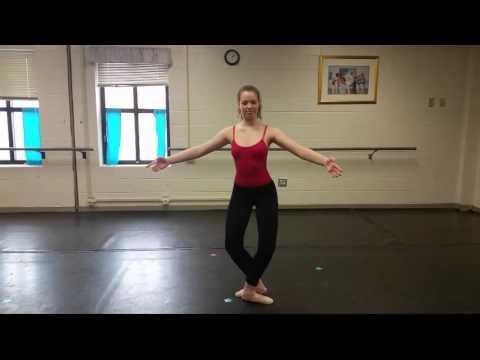 Tombe- Pas de Bourree Instructional Video