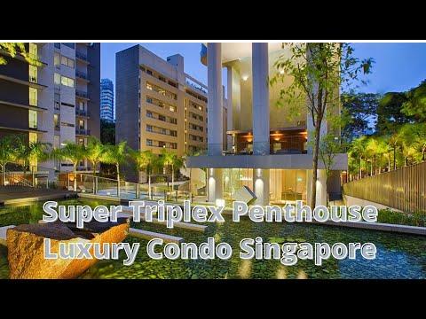 Ultra Luxury Penthouse in Singapore I Luxury Condo Singapore