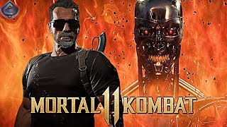 Mortal Kombat 11 Online - THE TERMINATOR MAKES A SPAMMER RAGE!