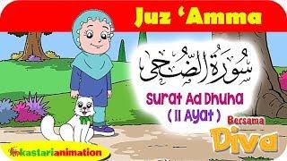 Download Mp3 Qs Ad Dhuha   Mengaji Juz Amma Bersama Diva   Kastari Animation