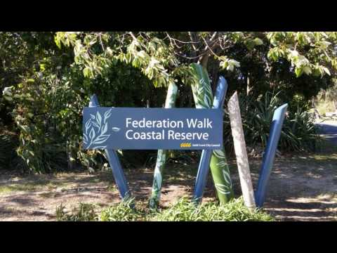 Federation Walk, The Spit, Gold Coast, October 2016