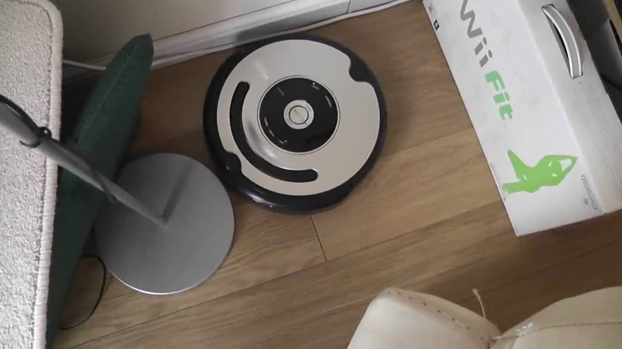 The I Robot Roomba 555 Vacuum Cleaner Youtube