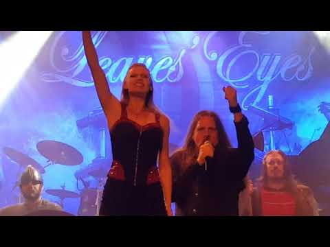 Leaves Eyes - Intro + Sign of the Dragonhead (Live HD) @ Pustervik - 2018