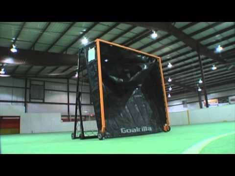 Goalrilla G Trainer - Lacrosse - Dampening/Goal Side