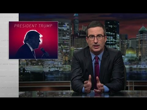 John Oliver - Trump on missile strikes in Syria and meeting with Xi Jinping