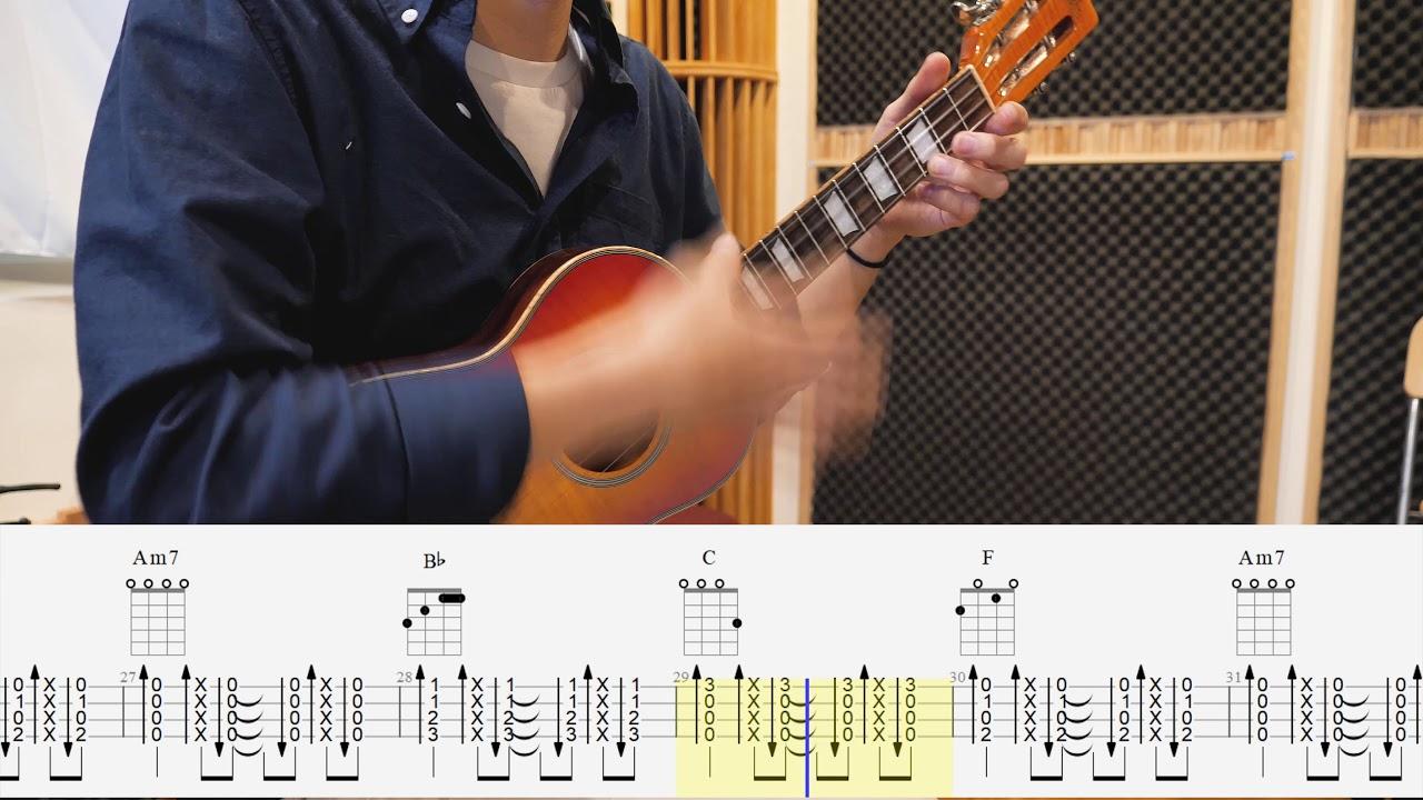 李千娜【心花開 】 Ukulele Cover (Tab&伴奏譜) Chords - Chordify