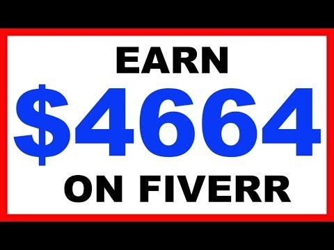 Earn $6446 On Fiverr Without Doing The Work