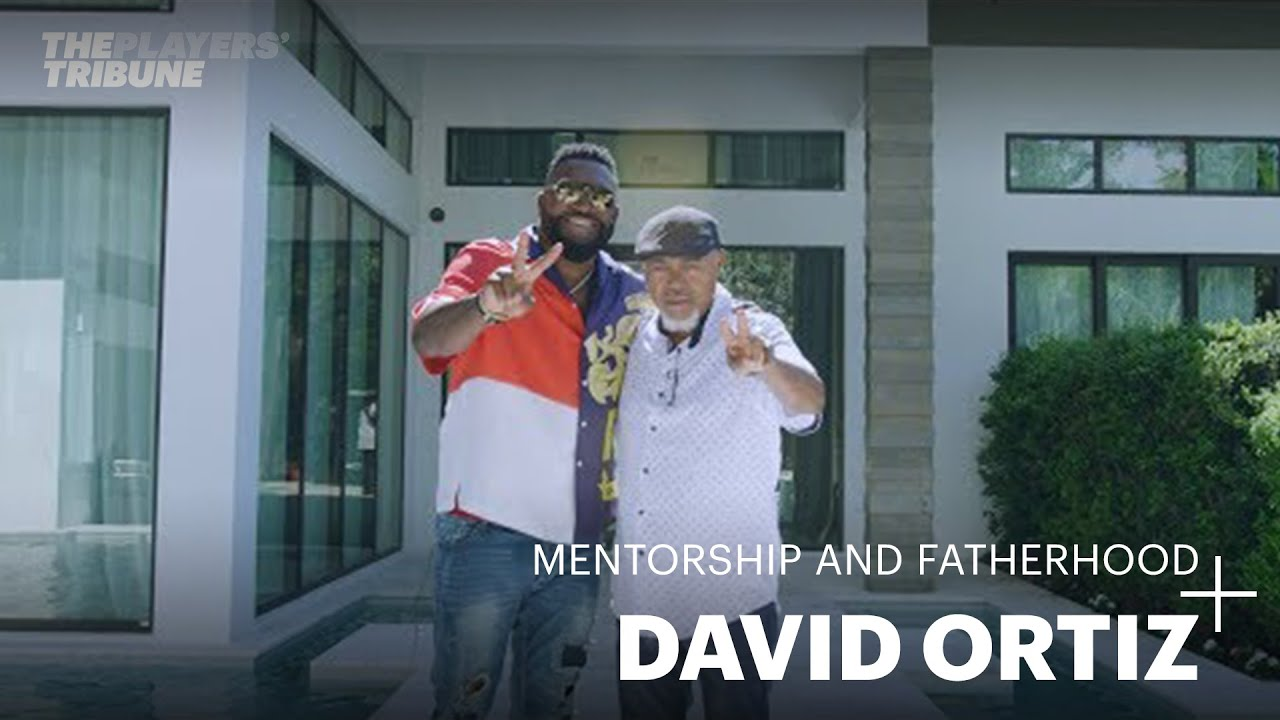 David Ortiz On Mentorship and Fatherhood