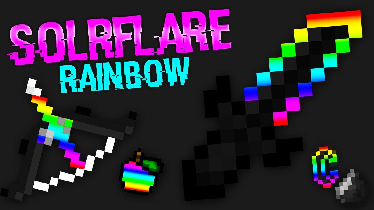 minecraft pvp texture pack rainbow pack lag free s doovi. Black Bedroom Furniture Sets. Home Design Ideas