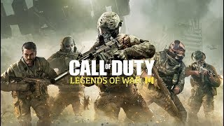 CALL OF DUTY LEGEND OF WAR GAMEPLAY 60FPS RANKED PUSH JOIN US PART4 ONLY SNIPER ARCTIC.50