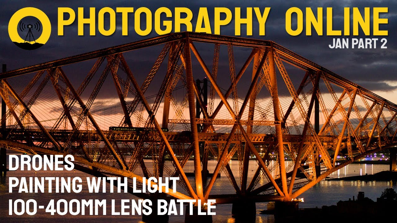 Photography Online, January 2021 (part 2) - Painting with light, drone regulations, 100-400mm lenses