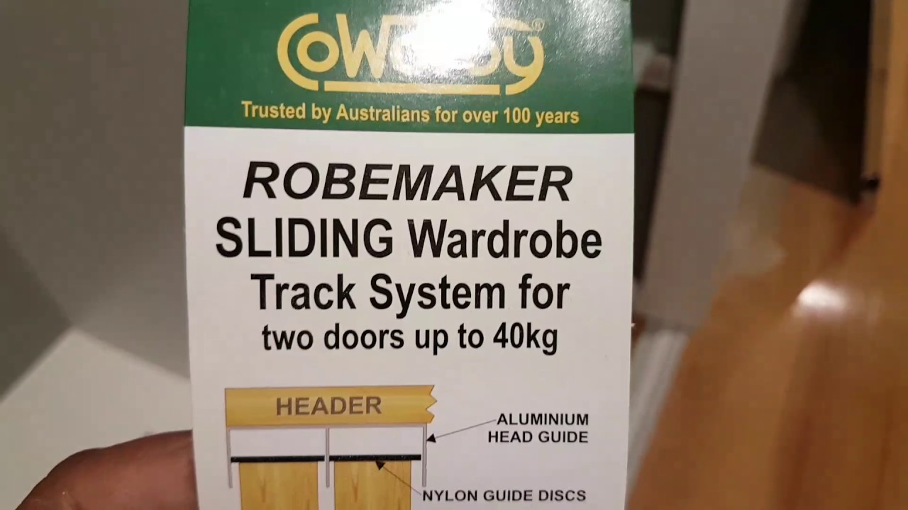 Cowdroy Robemaker Sliding Wardrobe Tracks Youtube