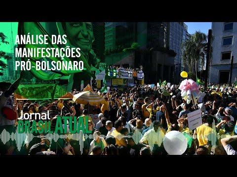 🔴 Análise das manifestações pró-Bolsonaro – Reforma da Previdência  -Jornal Brasil Atual 27.05.2019