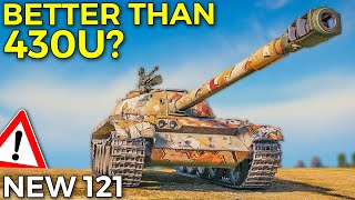Is 121 Better Tнan Object 430U Now? | World of Tanks 121 Gameplay - Update 1.10.1