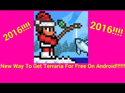 How To Get Terraria For Free(Android)*THE NEW WAY*