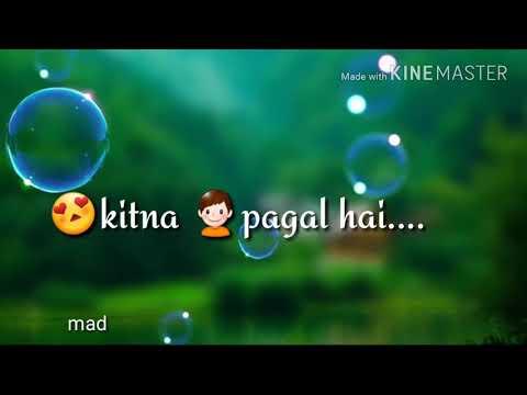 Mera dil bhi kitna pagal hai lyrics song 😊☺