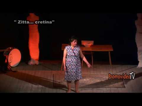 Siderno- Cinema Nuovo- Monologo: ''ZITTA... CRETINA''.