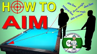 How to Aim P๐ol Shots, Billiard Training, Intellectual Tutorial