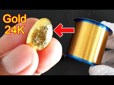 Gold 24k Melt Gold Wire Expires From Factory | Gold Wire Bonding AU 99.99%