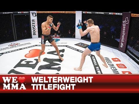 We Love MMA 48 Saarbrücken: Adrian Zeitner vs Tomasz Sobczak