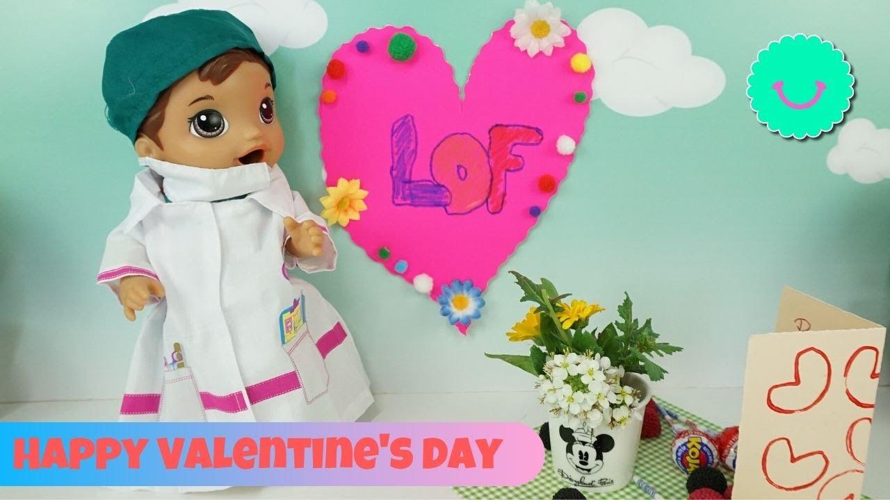 💘 Sorpresa de San Valentin con Luke  Sara y Diana, los bebés Baby Alive de BB Juguetes 💘