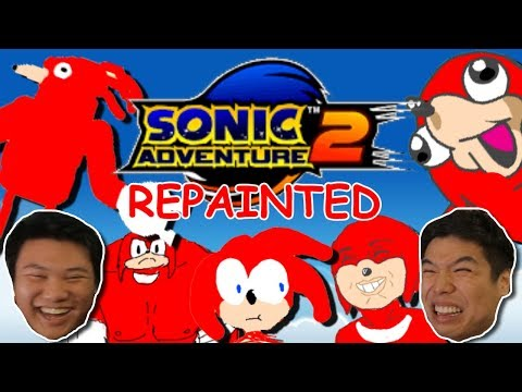 My Boy Knuckles || Sonic Adventures 2 REPAINTED || PART 2