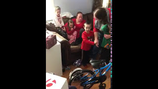 Liam Surprise Christmas Eve 2017