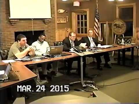 Tewksbury, MA: Board of Selectmen Meeting: March 24, 2015: Part 1 of 3