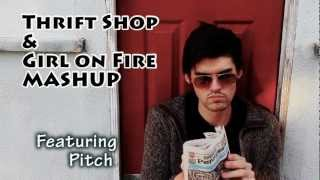 Thrift Shop and Girl on Fire Mashup - by Alicia Keys, Macklemore & Ray Lewis ft Wanz