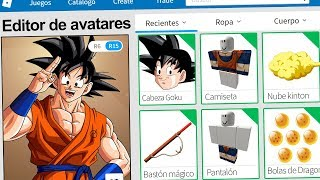 created the profile of GOKU in ROBLOX! | Rovi23 Roblox
