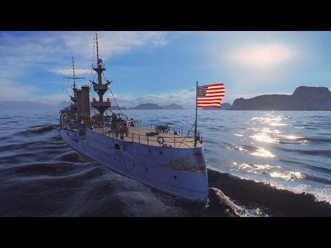 World of Warships - USS Albany review (rare ship)