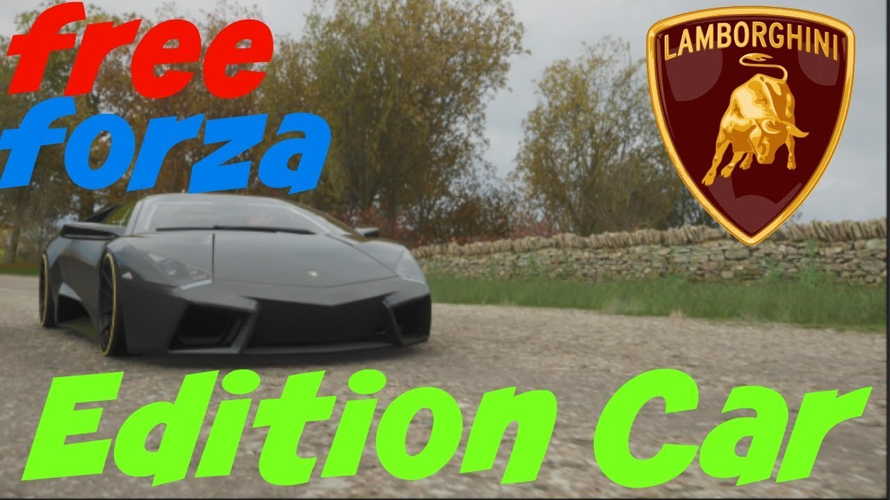 forza horizon 4 free lamborghini forza edition car youtube. Black Bedroom Furniture Sets. Home Design Ideas
