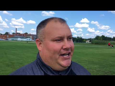 Grand Blanc football coach Andy Torok gets teary eyed talking about cousin Pat Mullaly