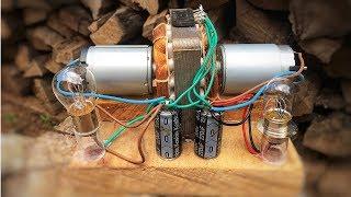 Electric Make a Self Running Machine Free Energy Generator
