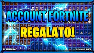 ACCOUNT FORTNITE FROM MY registered SI RIVELA RARO