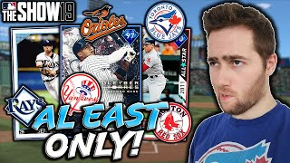 AMERICAN LEAGUE EAST PLAYERS ONLY...MLB THE SHOW 19 DIAMOND DYNASTY