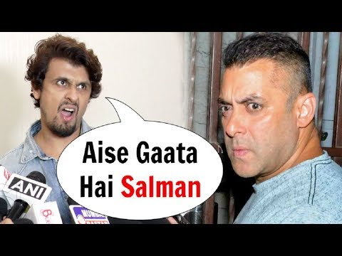 Sonu Nigam Makes Fun Of Salman Khan Singing 'I Found Love' S