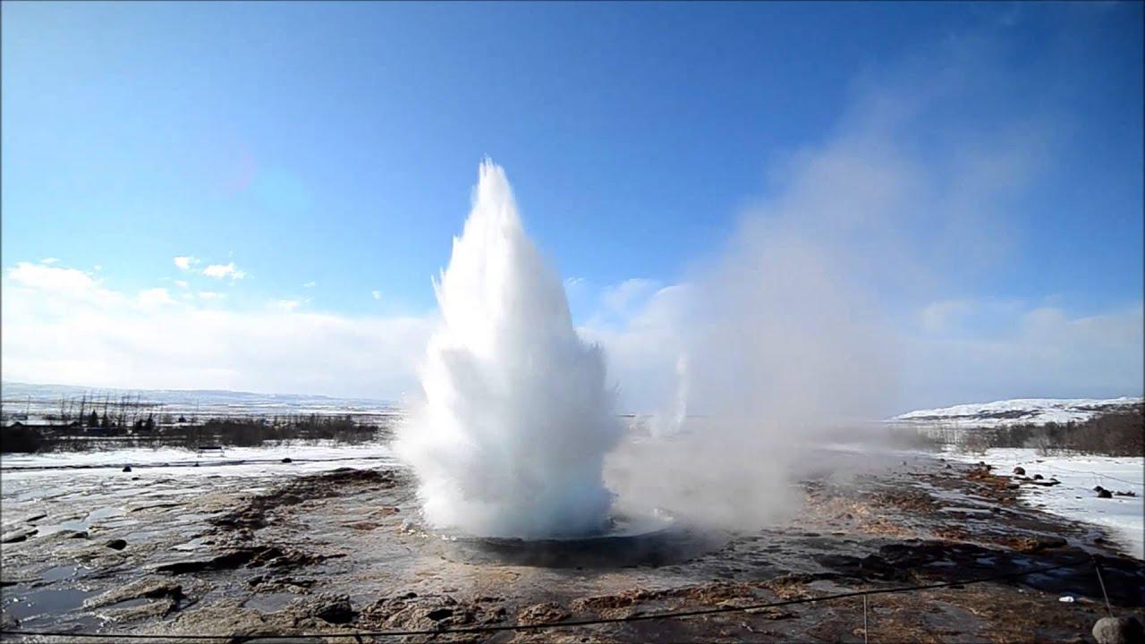 冰島噴泉 - YouTube