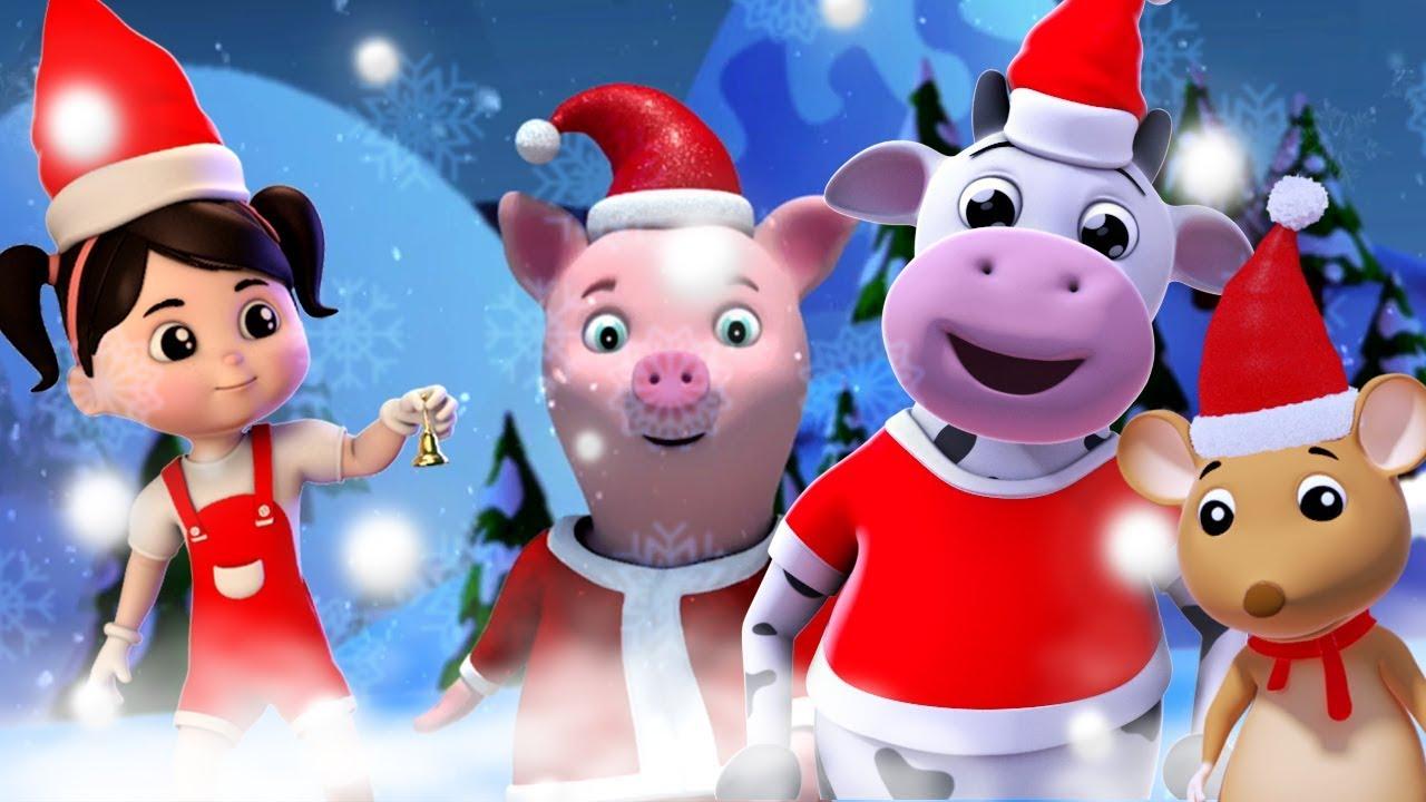 Weihnachtsmann Finger Familie   Weihnachtslieder   Frohe Weihnachten ...